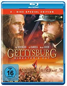 BD * Gettysburg - Extended Edition (2 Discs) [Blu-ray] [Import allemand]