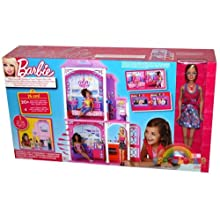 Barbie Beach House and Doll