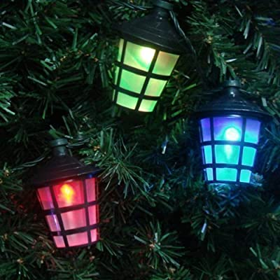 40 Multi Coloured Christmas/Party/Barbecue Lantern Style Shade (suitable for Indoor / Outdoor) - 11m Cable