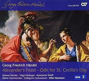 Geoge Frideric Handel: Alexander's Feast; Ode for St. Cecilia's Day [Hybrid SACD]