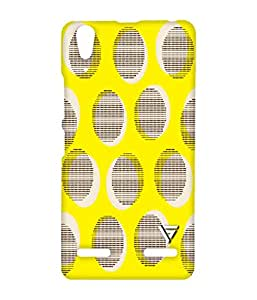 Vogueshell Sanke Pattern Printed Symmetry PRO Series Hard Back Case for Lenovo A6000