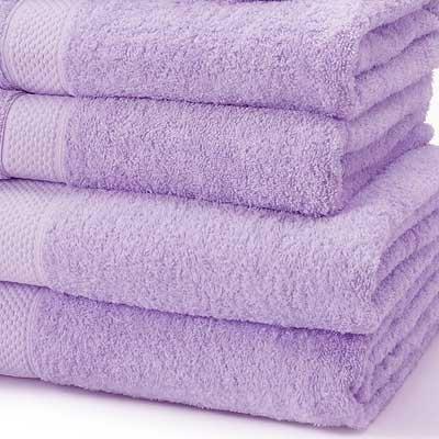 Linens Limited 100% Turkish Cotton 500gsm Bath Towel, Lilac