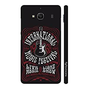 Enthopia Designer Hardshell Case Music Fest Back Cover for Xiaomi Redmi 2S