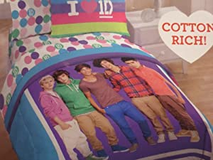 1 Direction 8 Pc Full Comforter Set