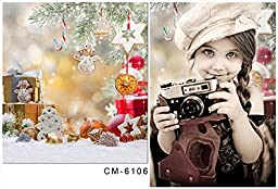 Johnson Christmas Photography Backgrounds Many Gifts Backdrop for Baby Photo Studio Christmas Tree Printed Picture Props