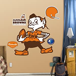 NFL Cleveland Browns Classic Logo Wall Graphics by Fathead