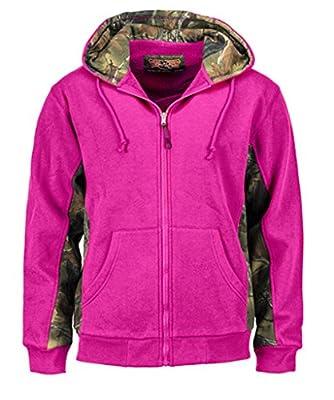 Trail Crest Women's Cambrillo Full Zip Up Hooded Sweatshirt Jacket