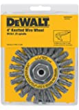 DEWALT DW4935 4-Inch Wire Wheel