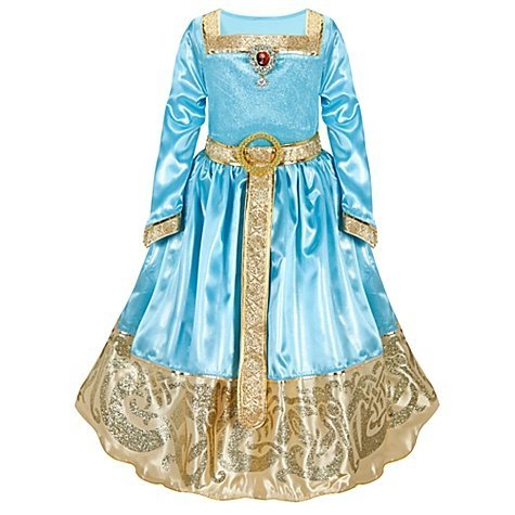 Disney Store Brave Princess Merida Formal Costume Dress Size Small 5/6