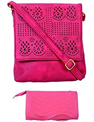 SRI Imported Fancy Designer Combo Of Handbag With Clutch For Girls And Women - B01JZBC10Q