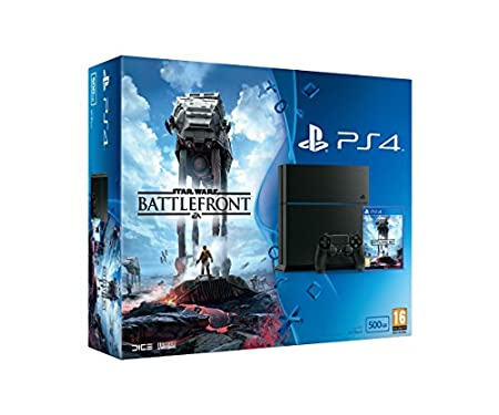 Sony PlayStation 4 500GB with Star Wars Battlefront
