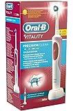 Oral-B Vitalité Précision Clean D12.513 Brosse à Dent Electrique Rotative Pourpre