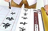 墨汁不要 水だけで書ける 水書き 習字 練習 セット 用具 セット 書初め (マス目)