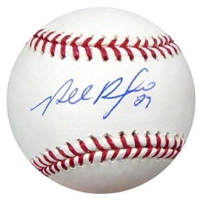 Placido Polanco Autographed Official Mlb Baseball Miami Marlins Psa/dna Stock #15863