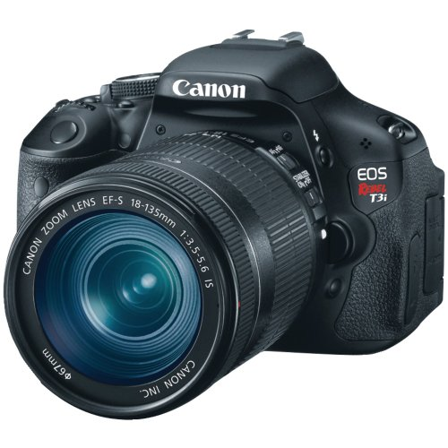 Canon EOS Rebel T3i (with 18-135mm IS Lens)