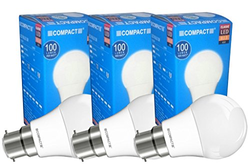 3W-B22-LED-Bulb-(Cool-White,-Pack-of-3)-