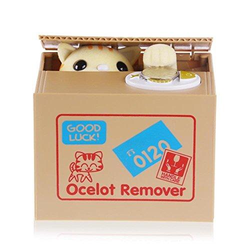 cute-itazura-stealing-money-piggy-bank-animal-saving-box-multi-choice-usa-seller-kittens-ocelot