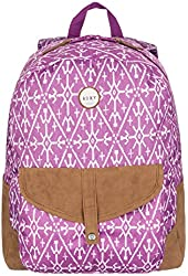 Roxy Junior's Caribbean Printed Backpack with Suede Trim