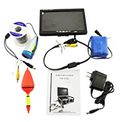 Buy 7 TFT LCD Video Camera System Fish Finder HD 600TV Lines Underwater Camera by Generic