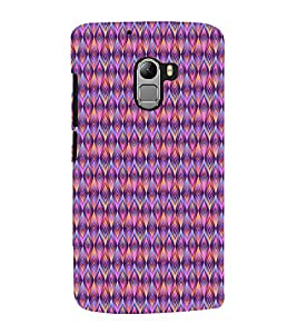 Fuson Premium Back Case Cover Animated Pattern With Brown Background Degined For Lenovo K4 Note