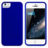 "vau Snap Case Slider - matte blue - zweigeteiltes Hard-Case f�r Apple iPhone 5 & iPhone 5Svon ""vau"""