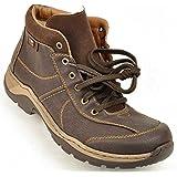 Rieker, Boots, Stiefelette mit Tex Membrane, Warmfutter in braun