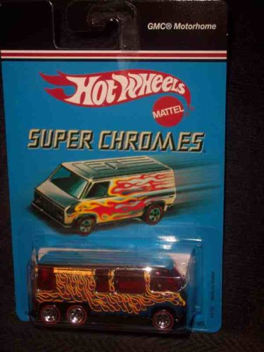 Super Chromes GMC Motorhome Collectible Collector Car Mattel Hot Wheels 1:64 Scale