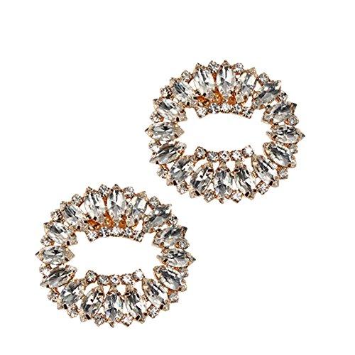 Froufrouz - Donna Clip Decorative Per Scarpe Gioielli, Abbellimenti, Spille, Accessori Per Scarpe Maggie - 1 Coppia