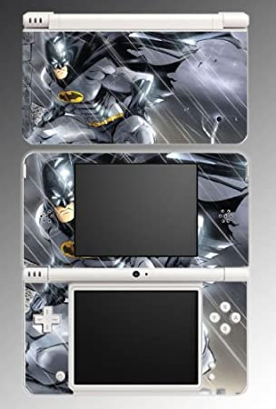 Batman Dark Knight Game Decal Vinyl Decal Cover Skin Protector #4 Nintendo DSi XL