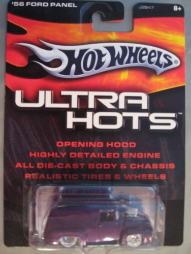 Hot Wheels Ultra Hots '56 Ford Panel PURPLE - 1