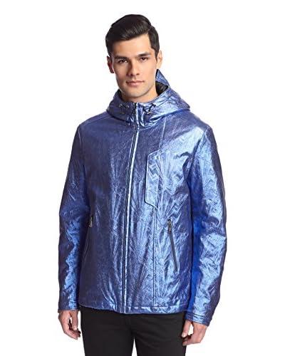 Versace Jeans Men's Metallic Hooded Jacket