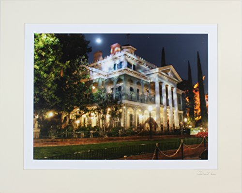 disneyland-new-orleans-square-haunted-mansion-night-exterior-matted-photo-16-x-20-mat