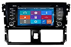See Crusade Car DVD Player for Toyota Vios/ Yaris Sedan 2013 2014 Support 3g,1080p,iphone 6s/5s,external Mic,usb/sd/gps/fm/am Radio 7 Inch Hd Touch Screen Stereo Navigation System+ Reverse Car Rear Camara + Free Map Details