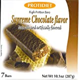 Protidiet Supreme Chocolate High Protein Bars (Box of 7)