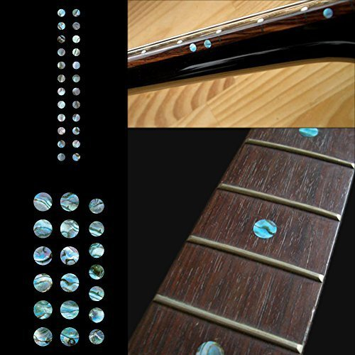 Fretboard Markers Inlay Sticker Decals for Guitar and Bass - Custom Dots Set-AB (Fretboard Side Marker compare prices)