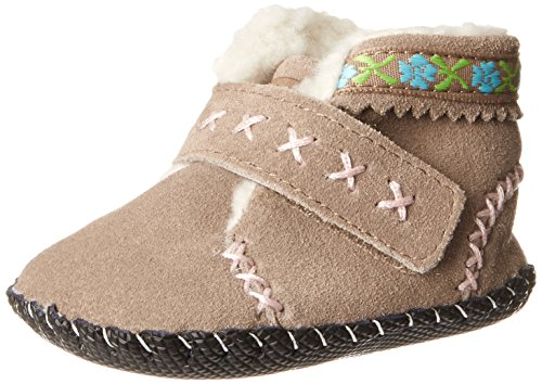 Pediped Originals Rosa Crib Shoe (Infant/Toddler),Gingersnap,Small (6-12 Months)