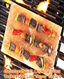10x8 Inch Pure Himalayan Salt Tile for Grilling Cooking Serving FDA# 15073930442 Gourmet Organic and Pure