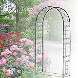 バラ アーチ スチール製ガーデンアーチ08 組立式