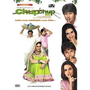 Chup Chup Ke (2006) SL DM - Shahid Kapoor, Kareena Kapoor,Neha Dhupia, Sunil Shetty, Paresh Rawal, Rajpal Yadav, Shakti Kapoor, Om Puri and Anupam Kher