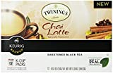 Twinings Chai Latte K-cups for Keurig Brewers, 12 Count