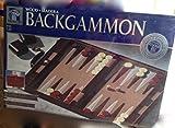 Classic Backgammon Set, Brown/White