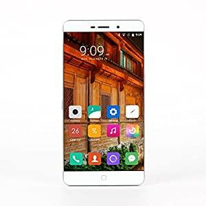 [Official Store] Elephone P9000 Smartphone 5.5 inch FHD 1.6mm Ultra Narrow Bezel 4G LTE Android 6.0 Helio P10 Octa Core MTK6755 2.0GHz Touch ID NFC 4GB RAM 32GB ROM Sony Dual Cameras 8MP 13MP White