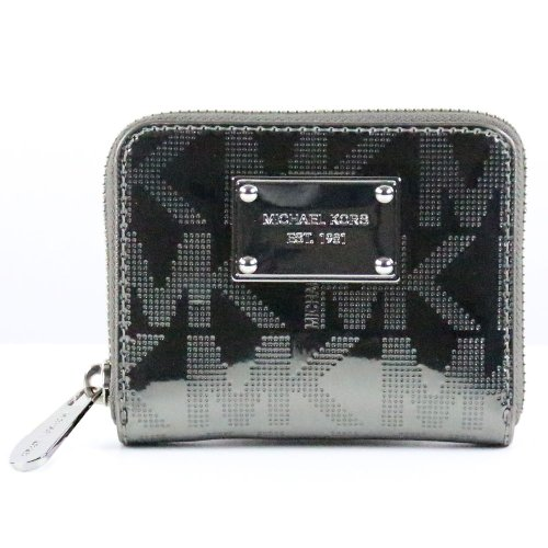 Michael Michael Kors Mk Signature Zip-Around Bifold Wallet