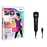 Accessory Microphone with Let's Sing 2016 Game - Wii