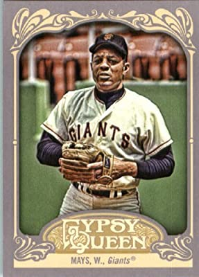 2012 Topps Gypsy Queen Baseball Card #280 Willie Mays - San Francisco Giants (MLB Trading Card)