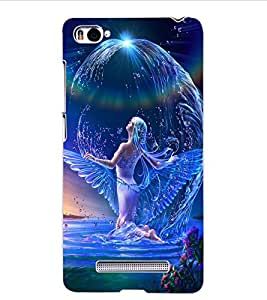 ColourCraft Beautiful Angel Design Back Case Cover for XIAOMI MI 4I