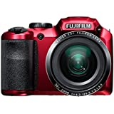 Fujifilm FinePix S4800 Digital Camera - Red (16 MP, 30x Optical Zoom) 3.0 inch LCD (discontinued by manufacturer)