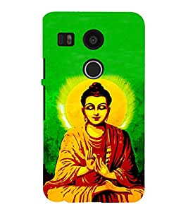 iFasho Lord Budha Back Case Cover for Huawei Google Nexus 6P