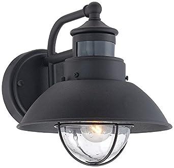Fallbrook 9 Quot High Dusk To Dawn Motion Sensor Outdoor Light
