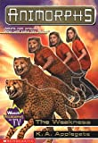 Animorphs #37: The Weakness (0439106761) by Applegate, K.A.